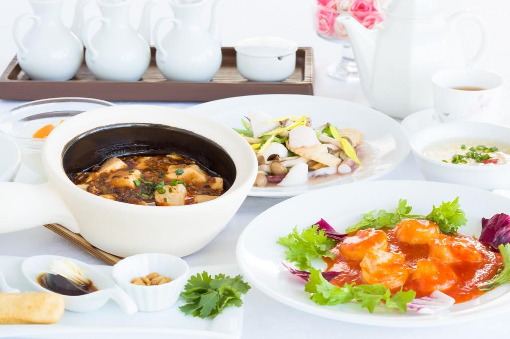 中華粥ランチセット 選べるお料理(イメージ)